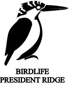 BirdLife President Ridge logo